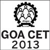 About Goa Common Entrance Test 2013 - GOA CET