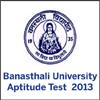 About Banasthali University Aptitude Test 2013