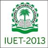 IUET 2013  - Integral university Entrance Test 2013