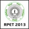 RPET 2013  - Rajasthan Pre-Engineering Test 2013