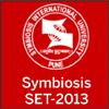 About  SET 2013  - Symbiosis Institute Entrance Test 2013
