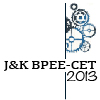 About J&K BPEE CET 2013 -  Jharkhand Board of Professional Entrance Examination Common Entrance Test 2013