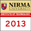 Nirma University Engineering Entrance Exam 2013