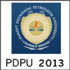 PDPU Entrance Exam 2013