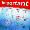 CUSAT CAT 2013 Important Dates