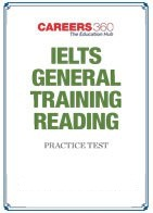 IELTS General Training Reading Practice Test - Download