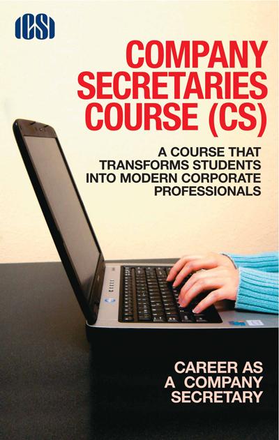 Free Download! ICSI's Company Secretary booklet