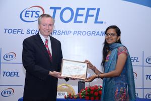 Meet Swathi, only girl to win $10k TOEFL scholarship '12