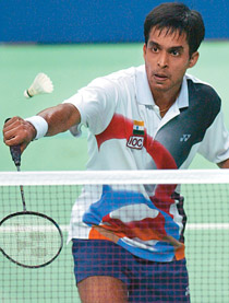 Pullela Gopichand, former  All-England badminton champ