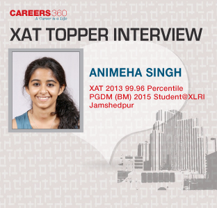 Xat 2013 Topper Animesha Singh Interview Gives Tips For Xat 2014