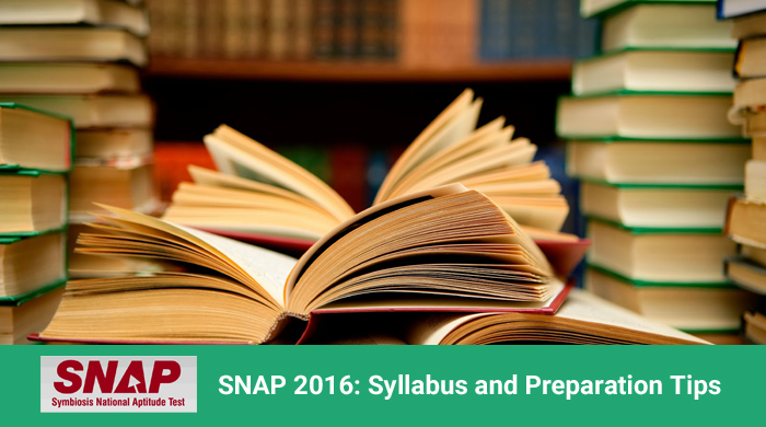 SNAP 2016: Section wise topics and preparation tips
