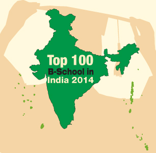 Top 100 B-schools in India 2014
