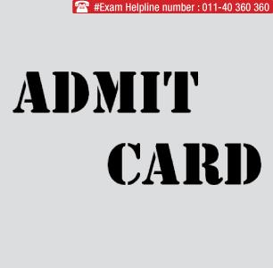 WBJEE Pharmacy 2014 Admit Card