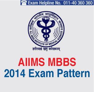 AIIMS MBBS 2014 Exam Pattern