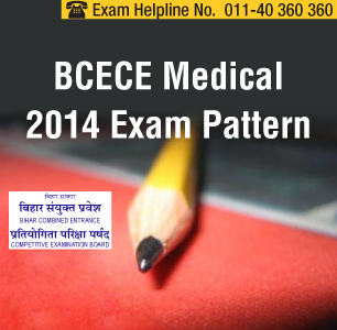 BCECE Medical 2014 Exam Pattern