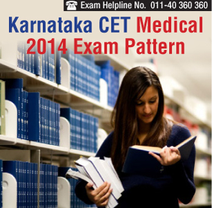 Karnataka CET Medical 2014 Exam Pattern