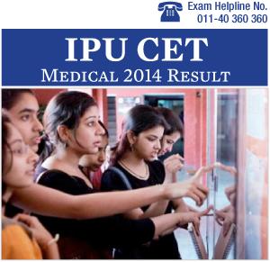 IPU CET MBBS 2014 Result