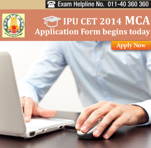 IPU CET MCA 2014 Online Application Begins from Feb 5 - Apply Online