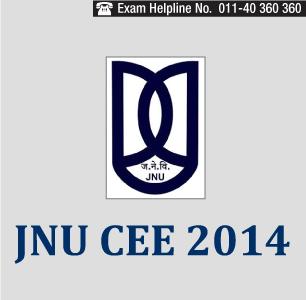 JNU 2014 Entrance Exam