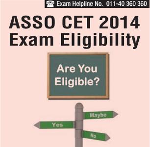 ASSO CET 2014 Eligibility Criteria