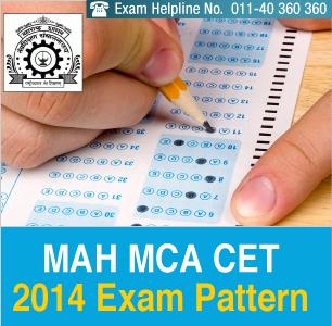 MAH MCA CET 2014 Exam Pattern