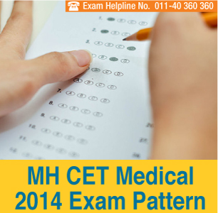 MH CET Medical 2014 Exam Pattern