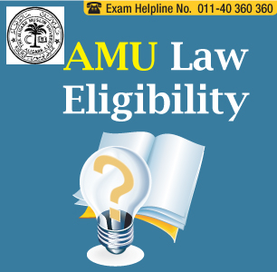 AMU Law Entrance Exam 2014 Eligibility