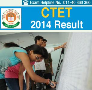 CTET 2014 Result