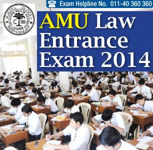 AMU Law Entrance Exam 2014