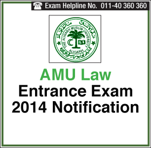 AMU Law 2014 Application  Last date is March 13, 2014