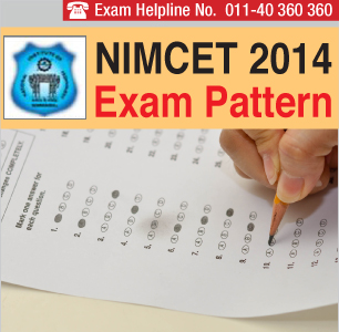 NIMCET 2014 Exam Pattern