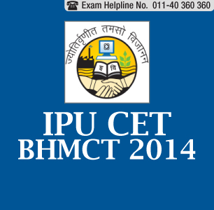 IPU CET BHMCT 2014