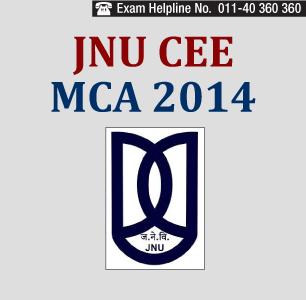 JNU CEE MCA 2014