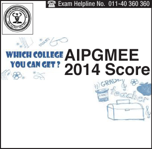 AIPGMEE 2014 College Predictor
