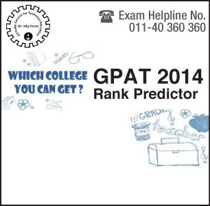 GPAT 2014 Rank Predictor