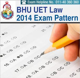 BHU LL.B Entrance Exam Pattern 2014