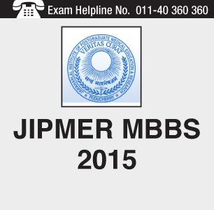 JIPMER MBBS 2015 Entrance Exam