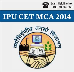 IPU CET MCA 2014
