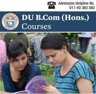 DU B.Com. (Hons.) Courses