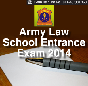 Army Institute of Law Entrance Test 2014