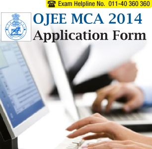 OJEE MCA 2014 Application Form