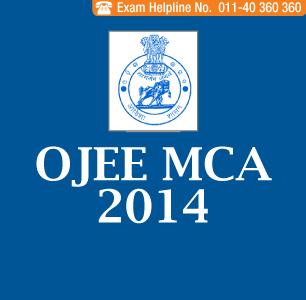 OJEE MCA 2014