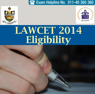 LAWCET 2014 Eligibility Criteria