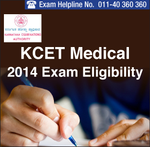 KCET Medical 2014 Eligibility