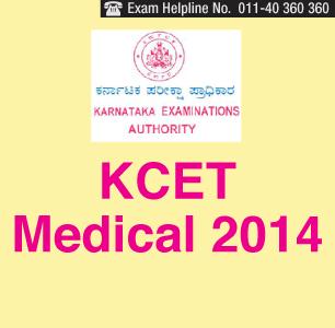 KCET Medical 2014