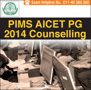 PIMS AICET PG 2014 Dentistry Counselling