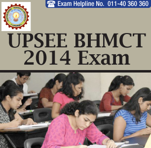 UPSEE BHMCT 2014 Paper Pattern