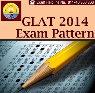 GLAT 2014 Exam Pattern