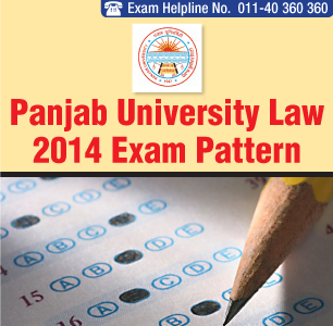 Panjab University LLB Entrance Exam 2014 Pattern