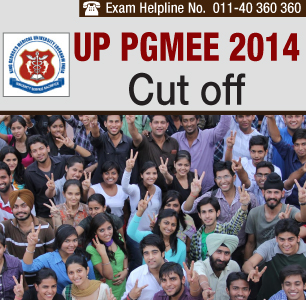 UP PGMEE 2014 Cutoff